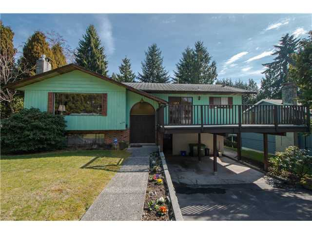 Main Photo: 4570 HOSKINS RD in North Vancouver: Lynn Valley House for sale : MLS®# V1052431