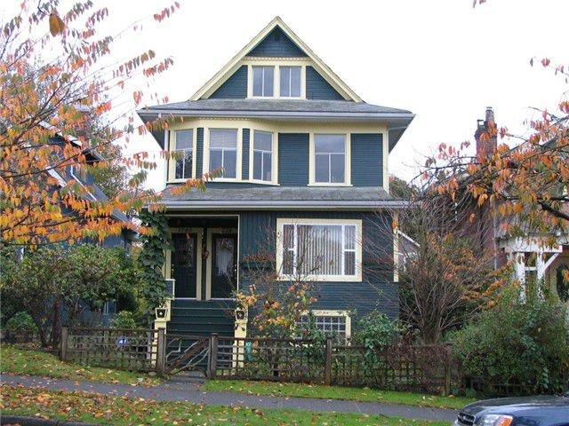 Main Photo: 1738-1740 Parker Street in Vancouver: Grandview VE House for sale (Vancouver East)  : MLS®# V827397