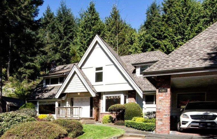 Main Photo: 4391 Rockridge Road in West Vancouver: Rockridge House for sale : MLS®# V1129836