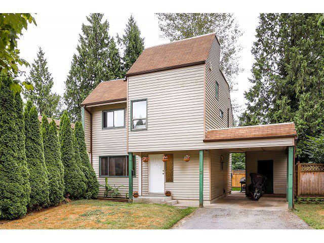 Main Photo: 3 2986 Coast Meridian Road in Port Coquitlam: Townhouse for sale : MLS®# v1135104