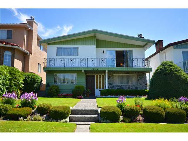 Main Photo: 5854 ROSS Street in Vancouver: Knight House for sale (Vancouver East)  : MLS®# V1021308