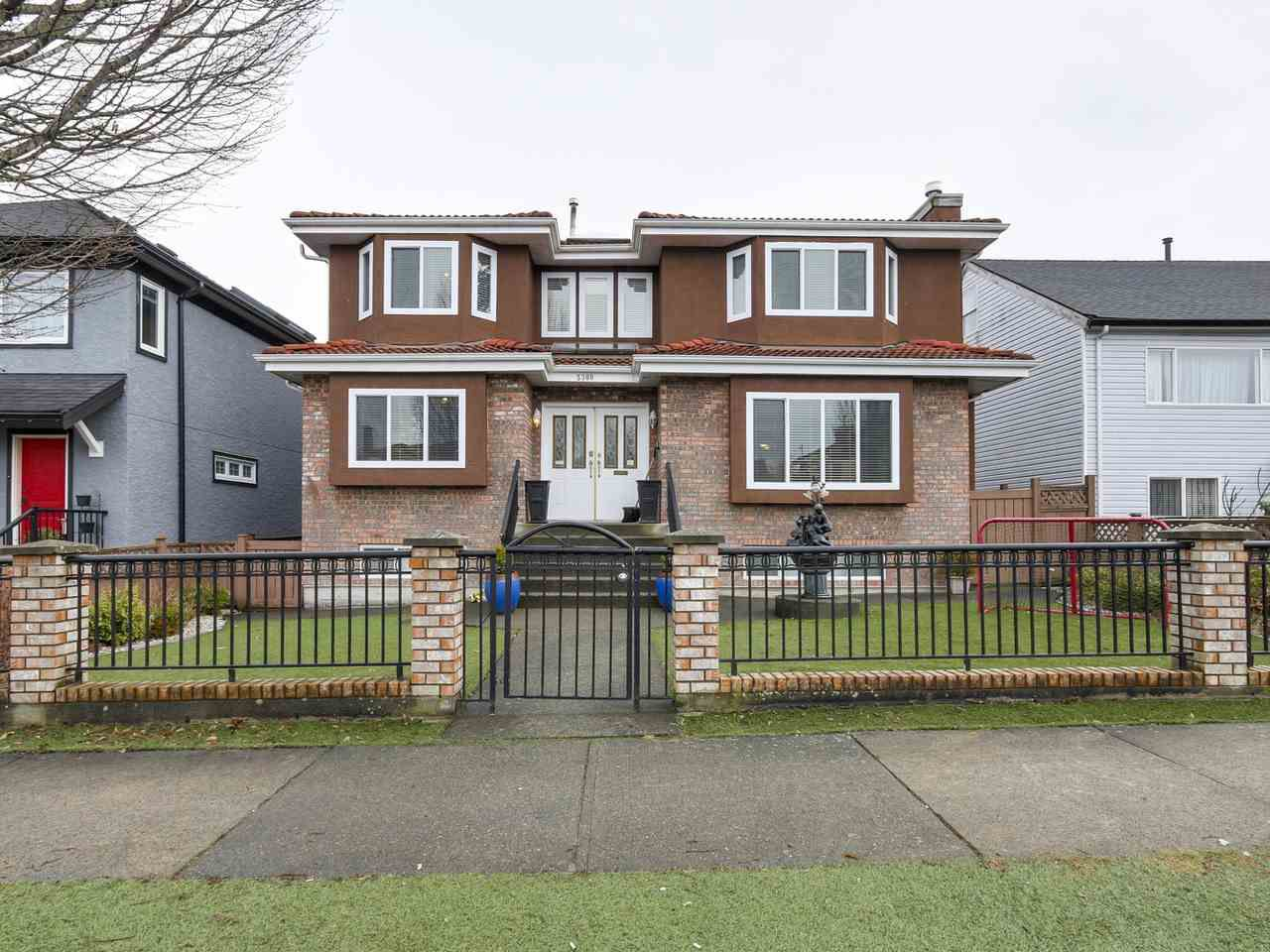 Main Photo: 5308 ROSS STREET in Vancouver: Knight House for sale (Vancouver East)  : MLS®# R2140103
