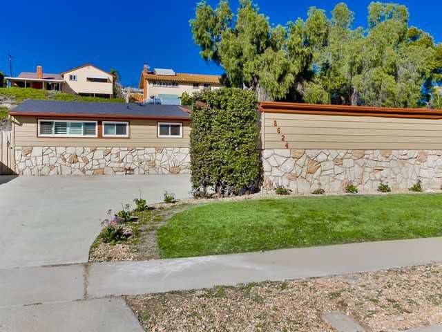 Main Photo: SAN CARLOS House for sale : 4 bedrooms : 8624 Verlane Drive in San Diego