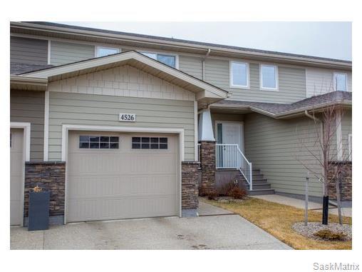 Main Photo: 4526 HARBOUR VILLAGE WAY in Regina: Harbour Landing Condominium for sale (Regina Area 05)  : MLS®# 564277
