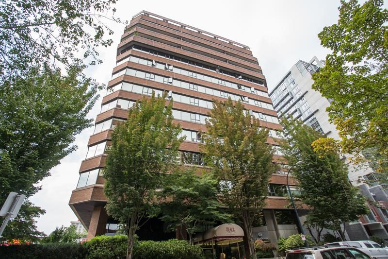 Main Photo: 605 1177 HORNBY STREET in Vancouver: Downtown VW Condo for sale (Vancouver West)  : MLS®# R2304699
