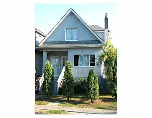 Main Photo: 1734 - 1738 E 1ST AV in : Grandview VE House Duplex for sale : MLS®# V378385