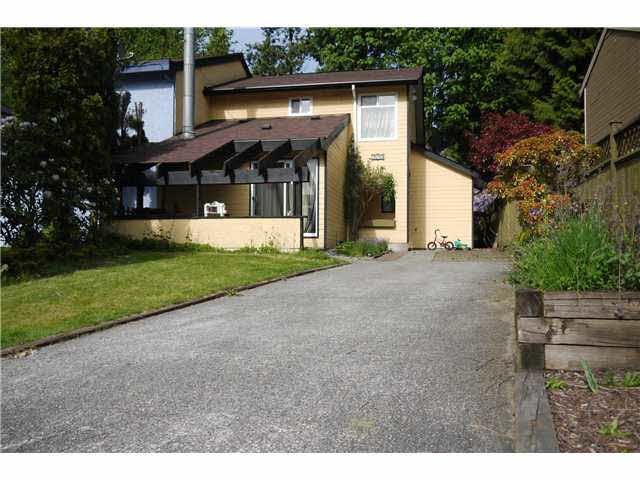 Main Photo: 2549 BURIAN DRIVE in Coquitlam: Coquitlam East House 1/2 Duplex for sale : MLS®# V1064314