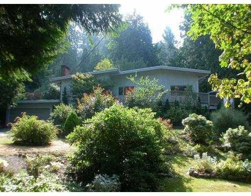 Main Photo: 6778 DUFFERIN AV in West Vancouver: Whytecliff House for sale : MLS®# V551077