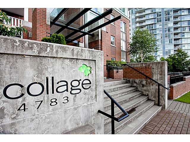 """Main Photo: 203 4783 DAWSON Street in Burnaby: Brentwood Park Condo for sale in """"COLLAGE"""" (Burnaby North)  : MLS®# V979456"""