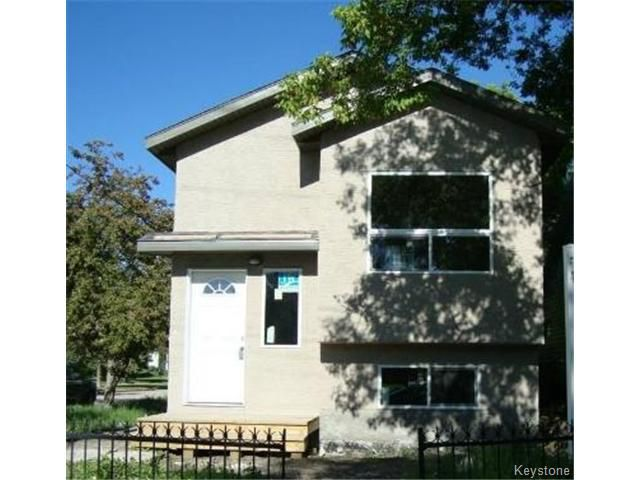 Main Photo: 1564 PACIFIC Avenue in WINNIPEG: Brooklands / Weston Residential for sale (West Winnipeg)  : MLS®# 1319336