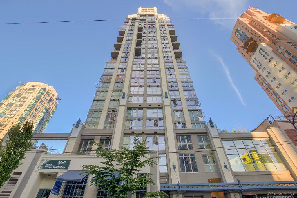 Main Photo: 1405 1238 Richards Street in Vancouver: Condo  : MLS®# R2077244