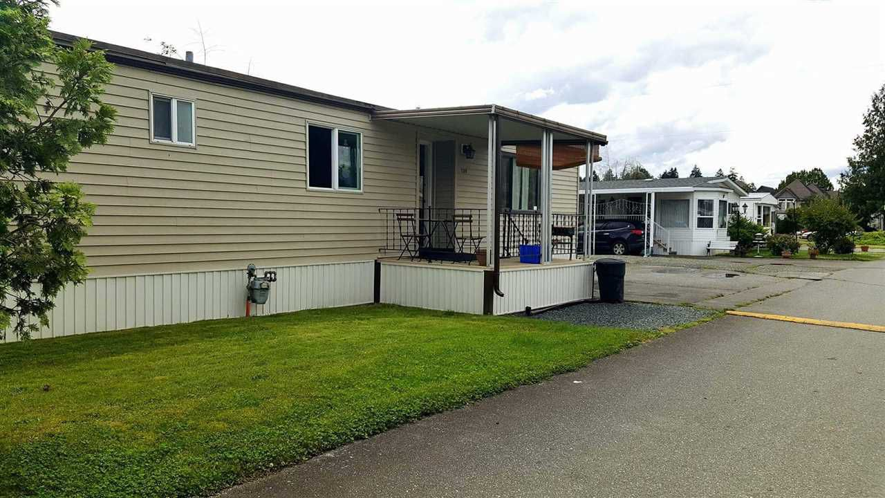 Main Photo: 109 45640 WATSON ROAD in Chilliwack: Sardis East Vedder Rd Manufactured Home for sale (Sardis)  : MLS®# R2106689