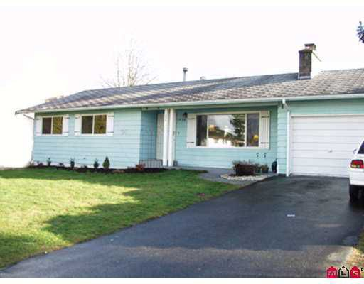 """Main Photo: 1976 ALBION Street in Abbotsford: Abbotsford West House for sale in """"Abbotsford West"""" : MLS®# F2627465"""