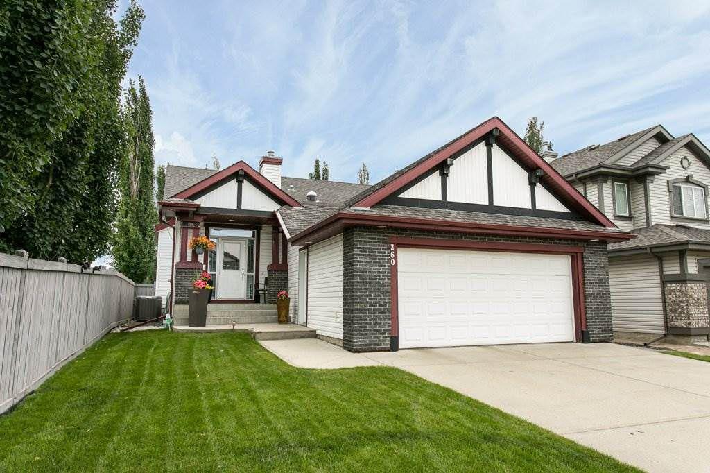 Main Photo: 360 CALDERON Crescent in Edmonton: Zone 27 House for sale : MLS®# E4165420