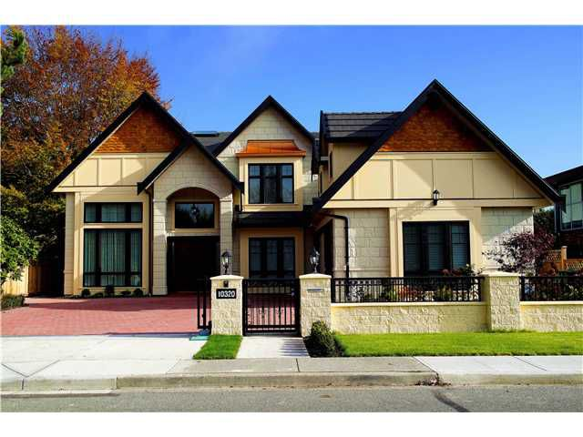 Main Photo: 10320 REYNOLDS DR in Richmond: Woodwards House for sale : MLS®# V1043057