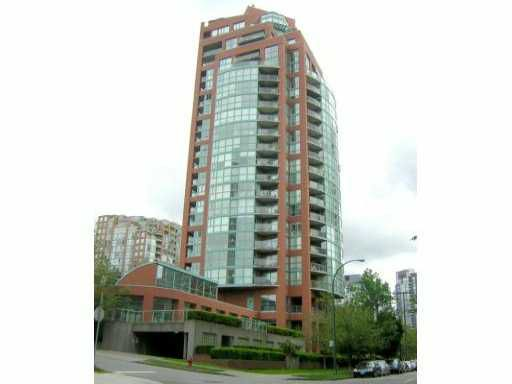 Main Photo: # 1502 907 BEACH AV in Vancouver: Yaletown Condo for sale (Vancouver West)  : MLS®# V1048860