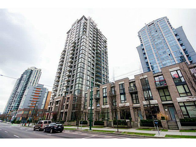 Main Photo: 1605 1295 Richards Street in Vancouver West: Downtown VW Condo for sale : MLS®# V1039646
