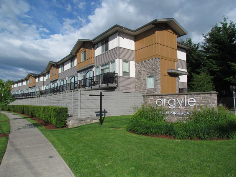 Main Photo: #94 34248 King Rd. in Abbotsford: Poplar Townhouse for rent