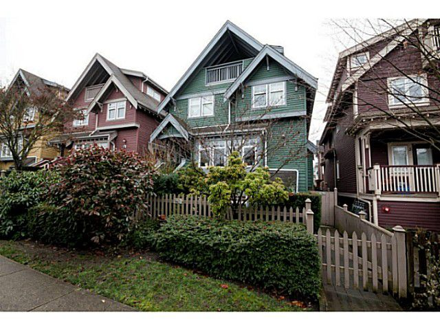 Main Photo: 1632 GRANT ST in Vancouver: Grandview VE Townhouse for sale (Vancouver East)  : MLS®# V1038932