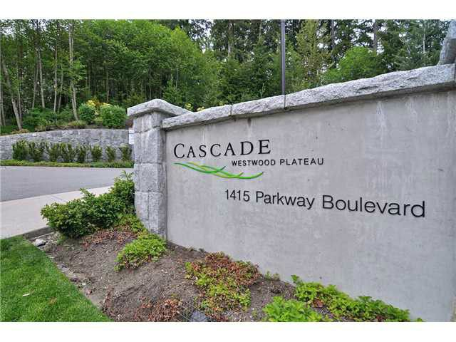 Main Photo: # 705 1415 PARKWAY BV in Coquitlam: Westwood Plateau Condo for sale : MLS®# V1110552