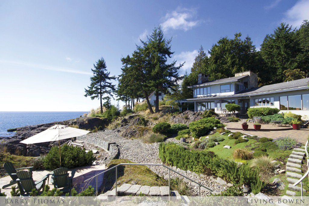Main Photo: 1275 Fairweather Road in Bowen Island: Fairweather House for sale : MLS®# R2037774