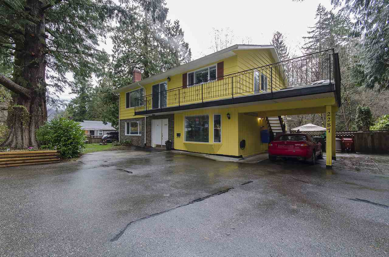 Main Photo: 2287 PARK CRESCENT in Coquitlam: Chineside House for sale : MLS®# R2038888