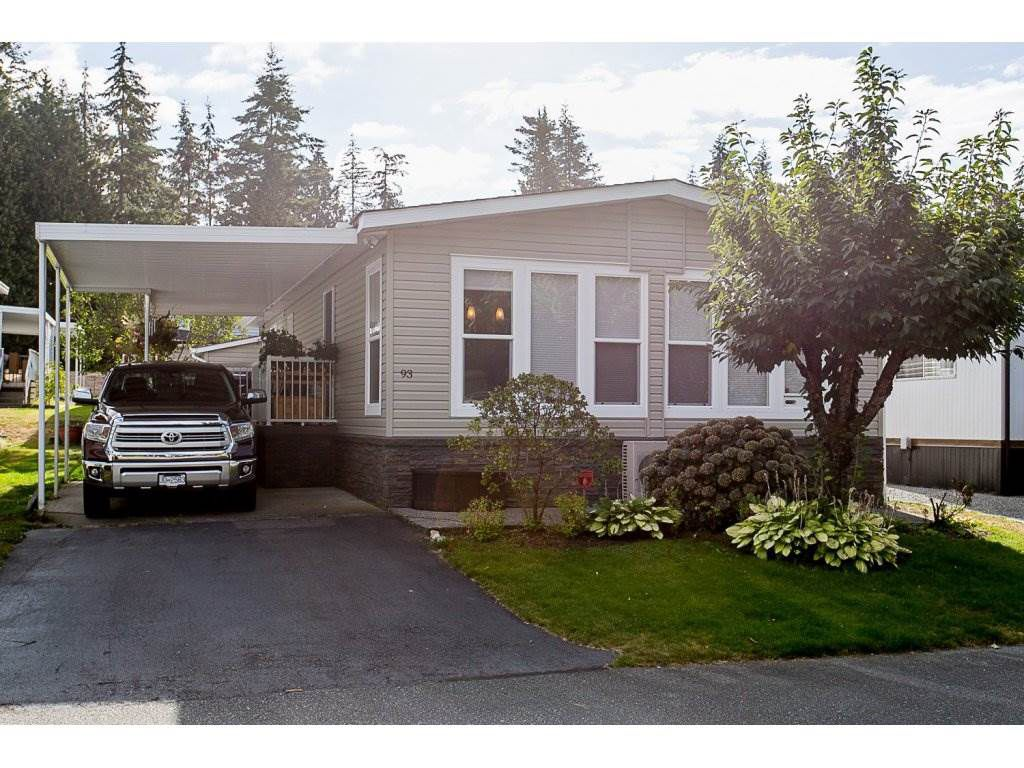 Main Photo: 93 2315 198 STREET in Langley: Brookswood Langley Manufactured Home for sale : MLS®# R2102906