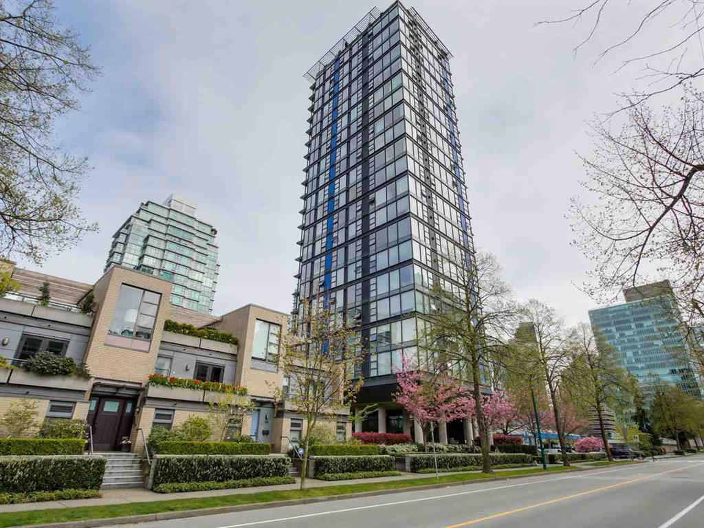 Main Photo: 2407 1723 Alberni Street in Vancouver: Condo for sale : MLS®# R2083755