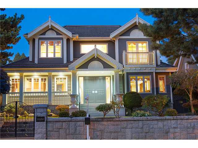 Main Photo: 5850 Cartier Street in Vancouver: South Granville House for sale (Vancouver West)  : MLS®# V1043050