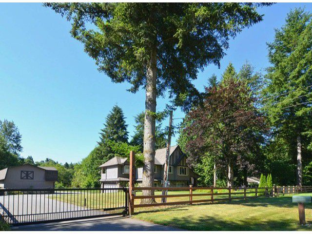 Main Photo: 21964 6TH AV in Langley: Campbell Valley House for sale : MLS®# F1417390