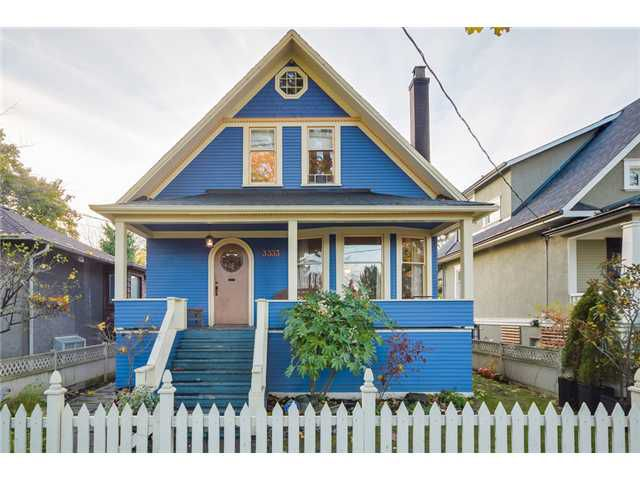 Main Photo: 3333 ASH ST in Vancouver: Cambie House for sale (Vancouver West)  : MLS®# V1093445
