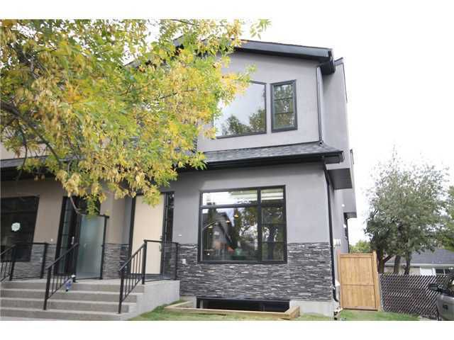 Main Photo: 724 24 Avenue NW in CALGARY: Mount Pleasant Residential Attached for sale (Calgary)  : MLS®# C3583600