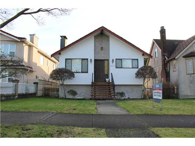 Main Photo: 2540 CHARLES ST in Vancouver: Renfrew VE House for sale (Vancouver East)  : MLS®# V1100710