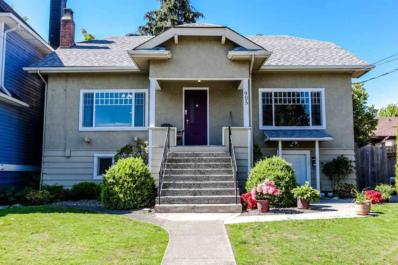 Main Photo: 905 EDINBURGH STREET in New Westminster: Moody Park House for sale : MLS®# R2067941