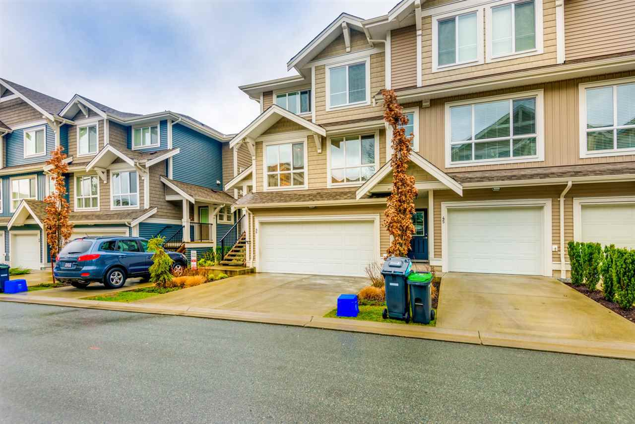 Main Photo: 46- 7059 210 ST in Langley: Willoughby Heights Townhouse for sale : MLS®# R2235633