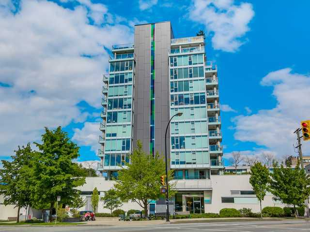 Main Photo: 604 2770 Sophia Street in Vancouver: Mount Pleasant VE Condo for sale (Vancouver East)  : MLS®# V1122025