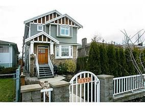 Main Photo: 1528 Pender Street in Vancouver: House for sale (Vancouver East)  : MLS®# V1043367
