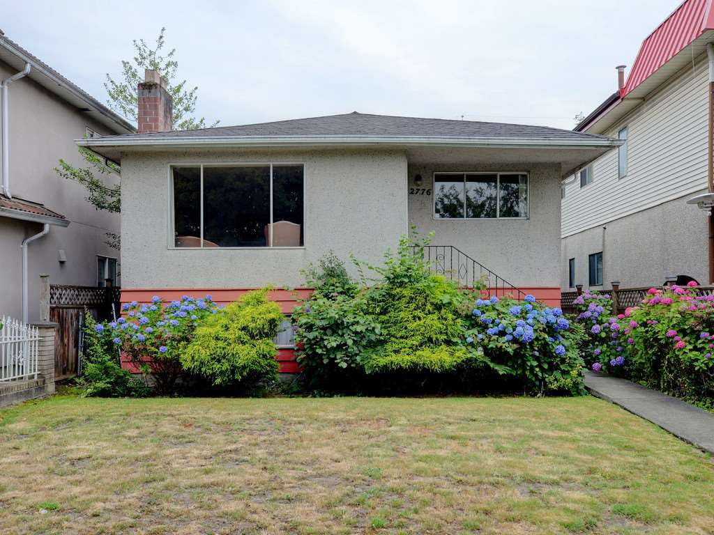 Main Photo: 2776 E 25TH AVENUE in Vancouver: Renfrew Heights House for sale (Vancouver East)  : MLS®# R2290154