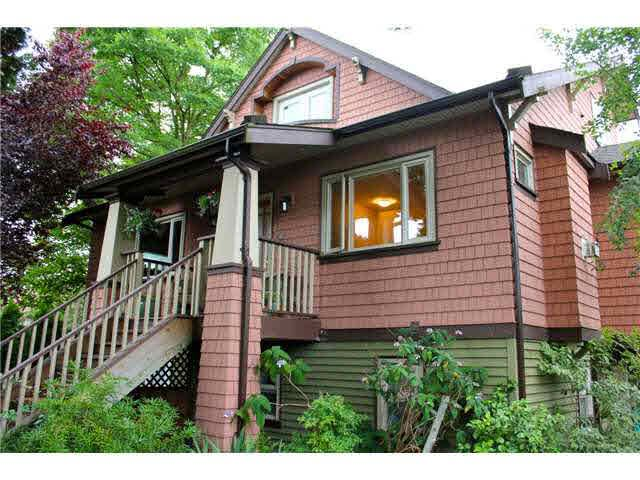 Main Photo: 3185 W 8TH AVENUE in : Kitsilano House 1/2 Duplex for sale : MLS®# V963192