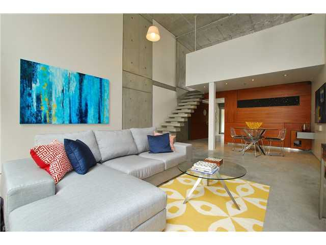 """Main Photo: 203 1540 W 2ND Avenue in Vancouver: False Creek Condo for sale in """"WATERFALL BUILDING"""" (Vancouver West)  : MLS®# V954778"""
