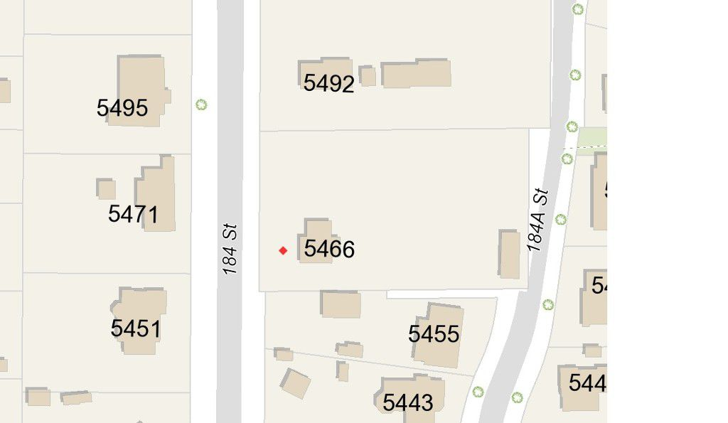 Main Photo: 5466 184 Street in Surrey: Cloverdale BC Land for sale (Cloverdale)