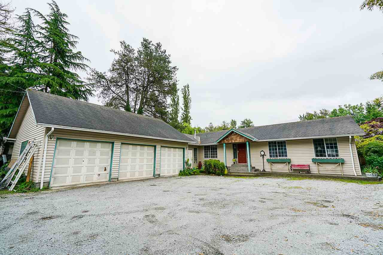 Main Photo: 23026 FRASER HIGHWAY in Langley: Campbell Valley House for sale : MLS®# R2374524