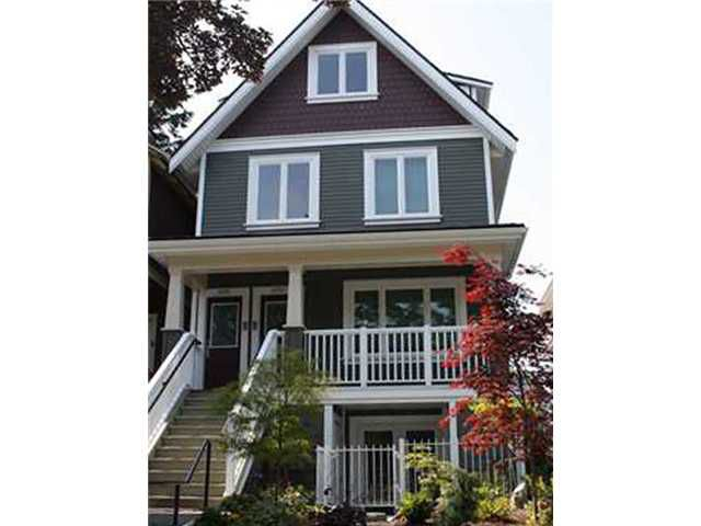 Main Photo: 2250 W 8TH Avenue in Vancouver: Kitsilano Townhouse for sale (Vancouver West)  : MLS®# V980564