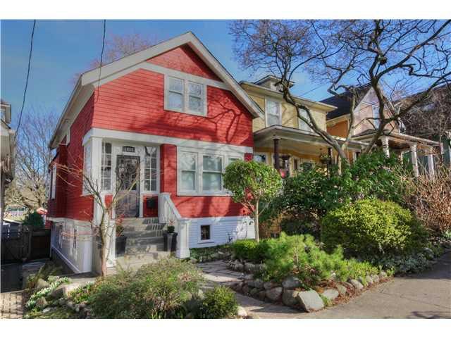 Main Photo: 1853 E 6TH AV in Vancouver: Grandview VE House for sale (Vancouver East)  : MLS®# V1048998