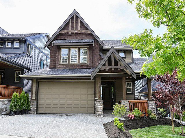 """Main Photo: 3382 HORIZON Drive in Coquitlam: Burke Mountain House for sale in """"SOUTHVIEW"""" : MLS®# V1007378"""