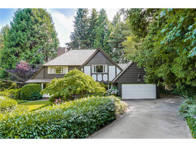 Main Photo: 4675 Willow Creek Road in West Vancouver: Caulfeild House for sale : MLS®# V11348t56