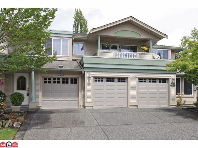 "Main Photo: 320 13888 70TH Avenue in Surrey: East Newton Townhouse for sale in ""CHELSEA GARDENS"" : MLS®# F1217044"