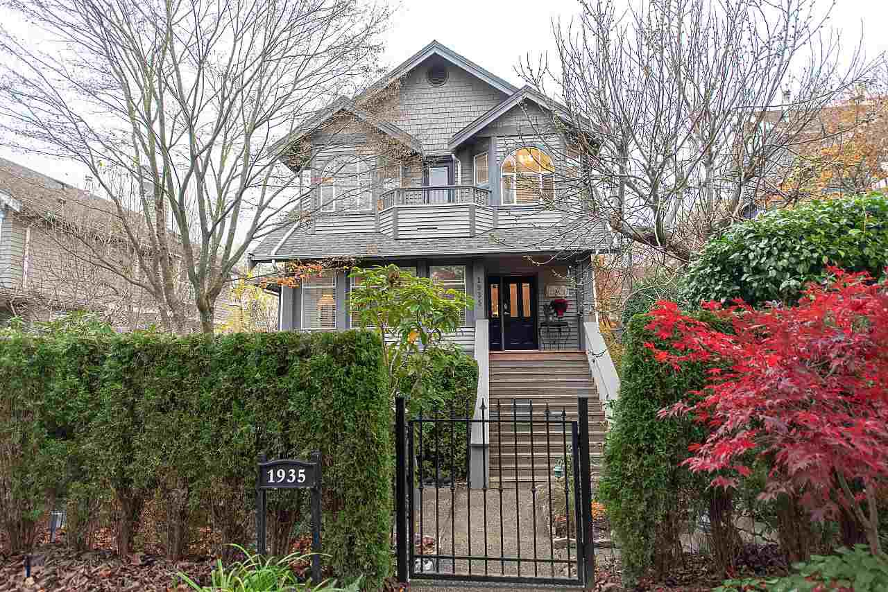 Main Photo: 1 1935 W 14TH AVENUE in Vancouver: Kitsilano House 1/2 Duplex for sale (Vancouver West)  : MLS®# R2322780