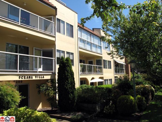"Main Photo: 308 1280 FIR Street: White Rock Condo for sale in ""Oceana Villa"" (South Surrey White Rock)  : MLS®# F1208427"