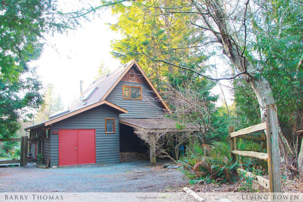 Main Photo: 538 Hilltop Place in Bowen Island: House for sale : MLS®# V1050249